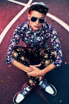 Different Florals Menswear