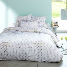 Geometric bed sheets. Want.