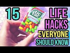 15 LIFE HACKS EVERYONE SHOULD KNOW - YouTube
