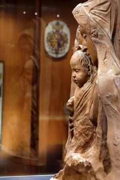 """E' stata restaurata e sarà al centro di una mostra al museo dell'Opificio delle pietre dure (in via Alfani 78 a Firenze). Si tratta della """"Madonna di Santa Trinita"""", una terracotta attribuita a Donatello ( Foto Cge )"""