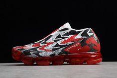 11ed4930764 Nike Air Vapormax FK Moc 2 University Red White-Black AQ0996-800 Jordan