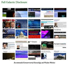 Recommended Extraterrestrial Knowledge and Wisdom Websites