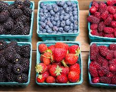 It's berry season!  Stop by your local farmer's market and pick up a variety of #organic #summer #berries. Great for #smoothies, #desserts or just straight up!   Stop by and check out #poweroffood recipes and inspiration –  www.poweroffood.com