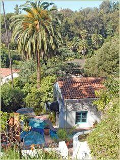 Mediterranean estates in Los Feliz