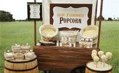 popcorn table decoration - Bing Images