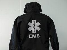 Reflective 3 in 1 EMT, EMS, Medic, MedFlight, Search, Star of Life Jacket.