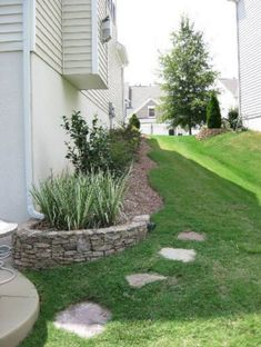 Nice 30 Astonishing Side House Landscaping Ideas With Rocks https://decoredo.com/18680-30-astonishing-side-house-landscaping-ideas-with-rocks/