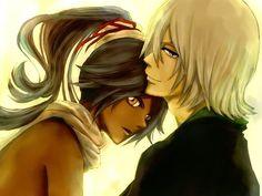 Bleach// Urahara and Yoruichi