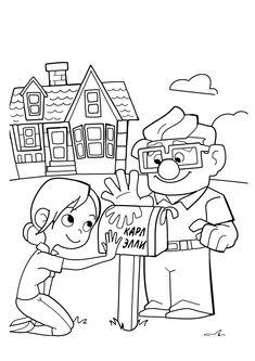 Disney Up Coloring Pages. 20 Disney Up Coloring Pages. Coloring Pages Fabulous Up Coloring Pages Printable Grown Cartoon Coloring Pages, Disney Coloring Pages, Free Printable Coloring Pages, Coloring Book Pages, Coloring Pages For Kids, Kids Coloring, Coloring Sheets, Up Pixar, Disney Up