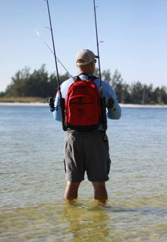 Wading fish has never been easier. www.fishnpack.com