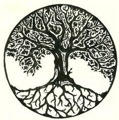 Image result for irish ash tree tattoo
