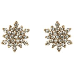 Accessorize Pave Star Stud Earrings (£7.58) ❤ liked on Polyvore featuring jewelry, earrings, star jewelry, stud earrings, pave jewelry, sparkle jewelry and sparkly earrings