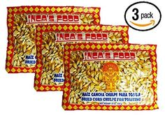 Incas Food Maiz Cancha Chulpe 15 Oz 3pack Dried Corn for Toasting Product of Peru *** You can get additional details at the image link.