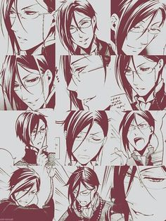 The many faces of Sebastian Michaelis