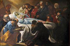 The Dormition of Mary by Giacinto Brandi