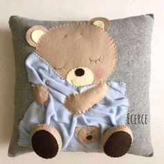 Pillows And Blankets Patchwork Quilt Patterns, Patchwork Baby, Patchwork Pillow, Quilted Pillow, Baby Pillows, Kids Pillows, Animal Pillows, Pillow For Baby, Felt Cushion