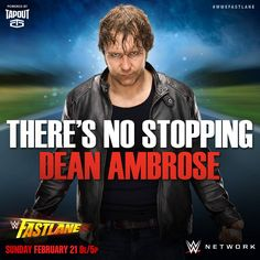 CANT WAIT TO SEE THIS!!!!!! I HOPE DEAN TURNS HEEL!!!!!!!