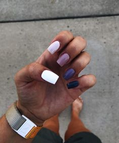 In search for some nail designs and some ideas for your nails? Listed here is our set of must-try coffin acrylic nails for modern women. Simple Acrylic Nails, Best Acrylic Nails, Summer Acrylic Nails, Pastel Nails, Aycrlic Nails, Swag Nails, Hair And Nails, Coffin Nails, Manicures