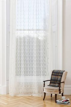 I've just found Arran Sheer Window Panel. A beautifully crafted madras sheer panel with intricate design detailing.. £195.00