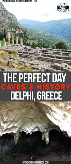 Korikion Cave - a good trek to Delphi in Greece