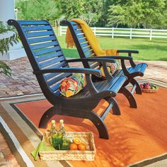 Plant the seeds for the ultimate lounging experience with this British Colonial style chair. It's wider back and seat add interest and make it extra comfortable. Outdoor Ottomans, Outdoor Lounge Furniture, Outdoor Seating, Outdoor Chairs, Outdoor Decor, Outdoor Spaces, Front Yard Patio, British Colonial Style, Courtyards