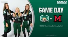 It's Senior Day at the OSF. So bring the tissues as we celebrate the winningest class in program history. Then stay and watch the Bobcats go for the sweep of Miami! It all starts at 2 p.m. at the OSF! #BleedGreen 4/28/17