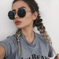 Image about girl in makeup/beauty by rosemarline My Hairstyle, Pretty Hairstyles, Innenohr Piercing, Corte Y Color, About Hair, Hair Dos, Gorgeous Hair, Beautiful Life, Hair Inspo
