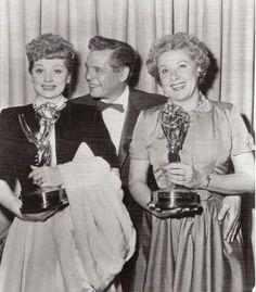 Lucille Ball, Desi Arnaz & Vivian Vance.