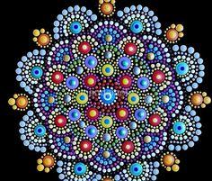 «Mandala Dot Art by Mandalaole» de mandalaole