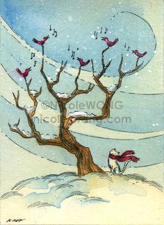 etsy.aceo.Winter-Song