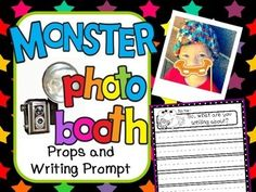 FREE Monster Photo Booth and Writing Prompt  This product includes monster smiles and a Writing prompt to kick off your monster unit or theme.  Be sure to check out other Monster themed products in my store!