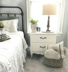 love the furniture, styling and wall color!