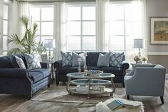 Luna fabric lounge