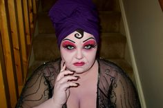 Plus Size Disney Villains – Yzma Halloween Look by She Might Be Loved  #BEAUTY, #Halloween, #Makeup, #Makeuplooks