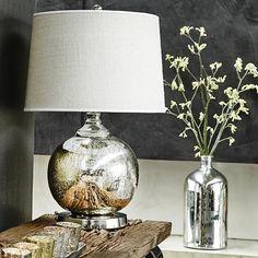 Mercury Sphere Lamp with Shade | Lighting | Accessories