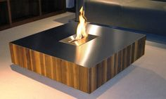 Fireplace CoffeeTable, sign me up!
