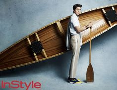 Lee Dong Wook | Olympic inspired editorial for InStyle Korea