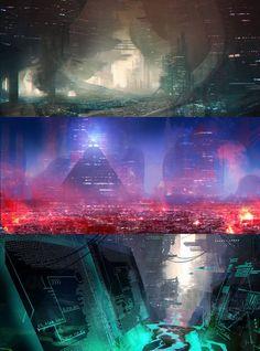 cyberpunkvisions:  Sci Fi Speedys- Jordan Grimmer...