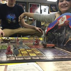 Interesting one by rabbible #heroquest #microhobbit (o) http://ift.tt/1Wk10uc may be the quickest loss in #HeroQuest ever! #boardgames #cowards #hipstercrotch