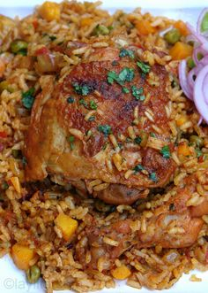 Arroz con pollo or chicken rice http://1502983.talkfusion.com/product/