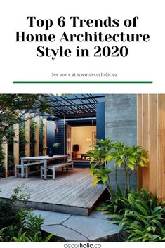 Talking about the trends of home architecture style in 2020 is not only about modern homes. People still love the way the classic lines standing strong. In this modern world, a home does not only hold one certain style. They can combine some and create something new and different. #decorholic #homearchitecture #designtrends2020 #homedesignideas #home #homestyle2020