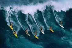 hawaii weather Large Waves, Big Waves, Hawaiian Theme Party Decorations, Photo Surf, Surfing Wallpaper, Hd Wallpaper, Waimea Bay, Big Wave Surfing, Surfs Up