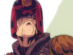 watched some DREDD tonight. Always a blast to draw this guy.  Full illustration here: http://mikuloctopus.tumblr.com/
