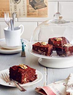Walnuss-Brownies Rezept - [ESSEN UND TRINKEN]