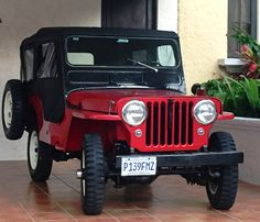 1951 Willys CJ-3A - Photo submitted by Carlos Paredes.