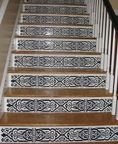 15 Creative Ideas To Decorate Your Stair Risers | Decorating, Interiors And  Staircase Ideas