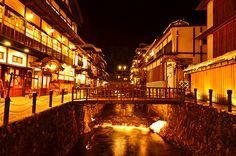 Ginzan Onsen, Japan