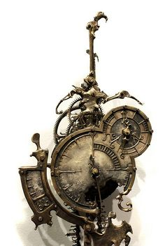 Eric Freitas - U.S. : Steampunk Exhibition at The Museum of the History of Science, The University of Oxford, U.K. by Catherinette Rings Steampunk, via Flickr