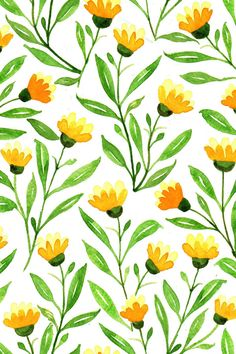 Yellow meadow part of Prairie beauty fabric collection