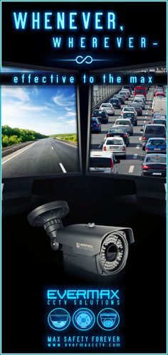 Whenever, wherever - effective to the max - Evermax CCTV solutions